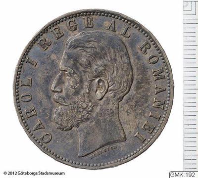 silvermynt, mynt, betalningsmedel, 5 lei, lei [myntslag]