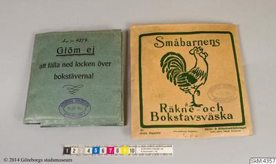 läromedel, svenska, matematik, räkne- och bokstavsväska, Småbarnens Räkne- och Bokstavsväska