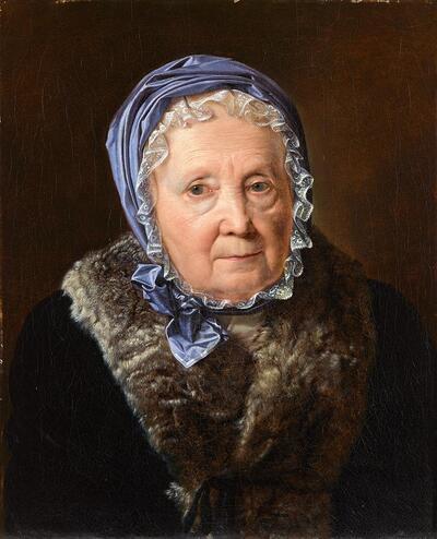 Rosina Wieser im 83. Lebensjahr