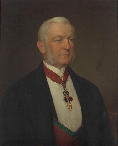 Der Politiker Karl Wilhelm Philipp Fürst Auersperg