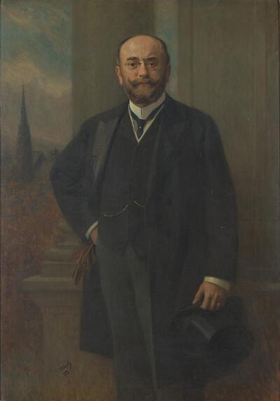 Der Wiener Bürgermeister Dr. Richard Weiskirchner