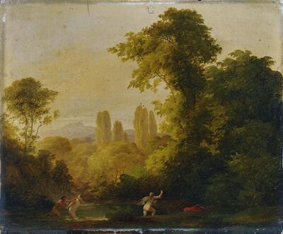 Landschaft mit mythologischer Staffage