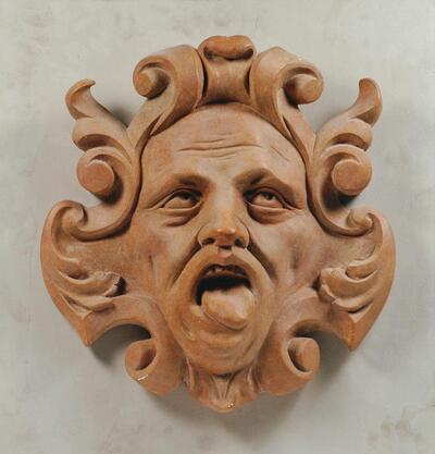 Maske vom Palais Pfeifersberg in Innsbruck