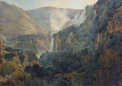 Die Wasserfälle von Terni