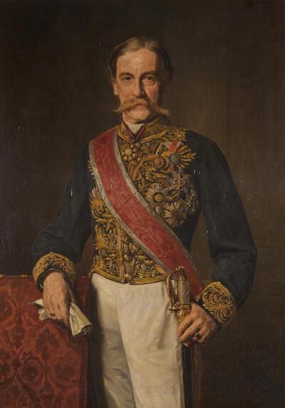 Minister Karl Hohenwart, Graf von Gerlachstein