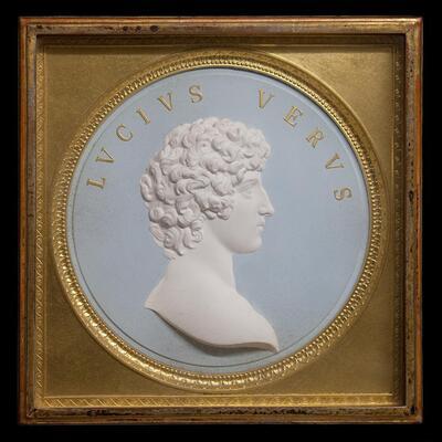 Idealporträt des römischen Kaisers Lucius Verus (130–169 n.Chr.)