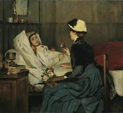 Der Besuch am Krankenbett