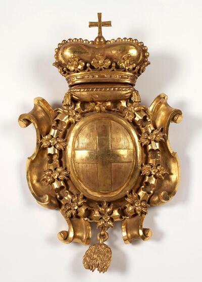 Wappenkartusche des Prinzen Eugen von Savoyen