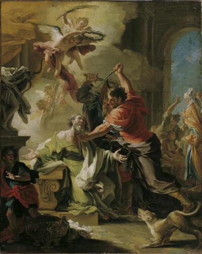 Martyrium des heiligen Prokop