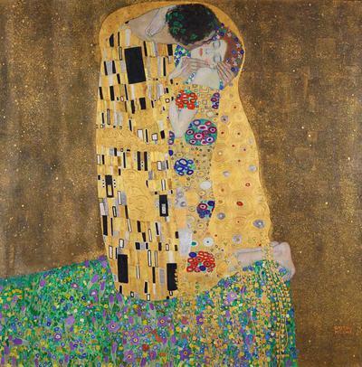 Der Kuss (Liebespaar)