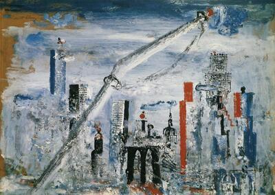 Ansicht von Manhattan (East River)
