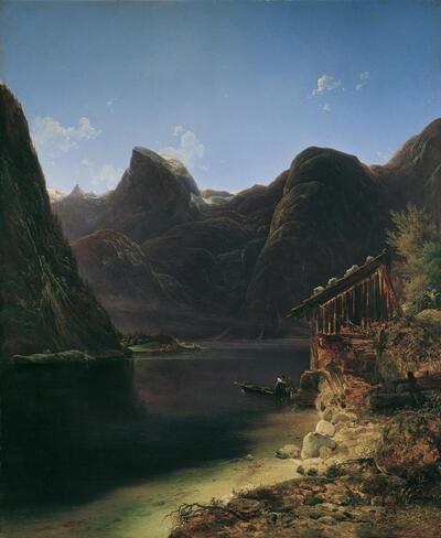 Der Hallstätter See