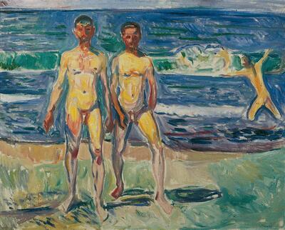 Männer am Meer