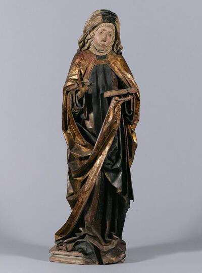 Weibliche Heilige (hl. Walpurgis?)