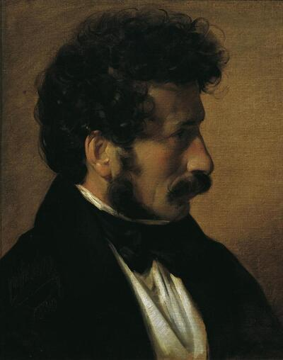 Der Maler Theodor Alconière