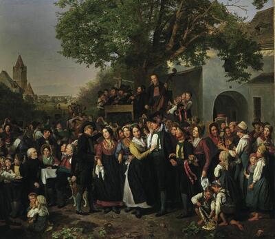 Niederösterreichische Bauernhochzeit