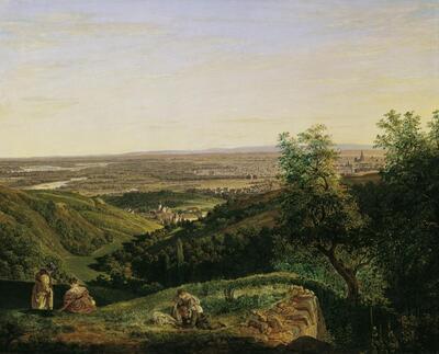 Blick auf Wien vom Krapfenwaldl