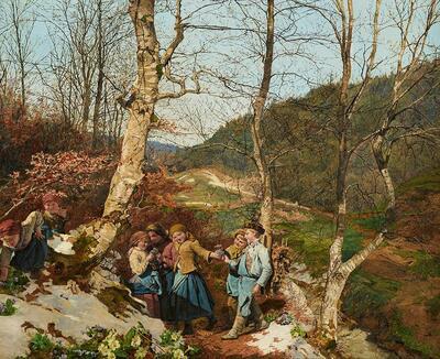 Vorfrühling im Wienerwald