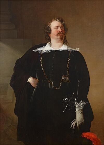 Flamänder Bürgermeister (Baron Pfuel?)
