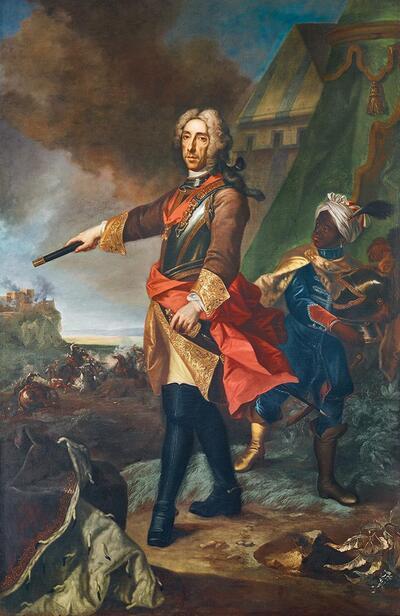 Prinz Eugen von Savoyen als Feldherr