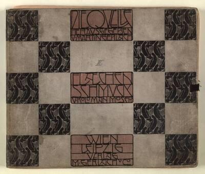 III. Flächenschmuck von Koloman Moser (Originaltitel)
