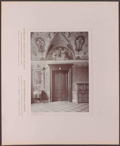 Fotografie des Votiv-Saals des Kunstgewerblichen Museums der Handels- und Gewerbekammer in Prag (vom Bearbeiter vergebener Titel)