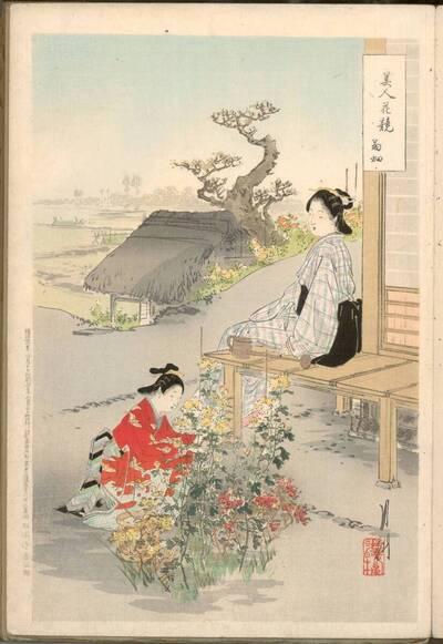 Chrysanthemenbeet (Kikubatake 菊畑)