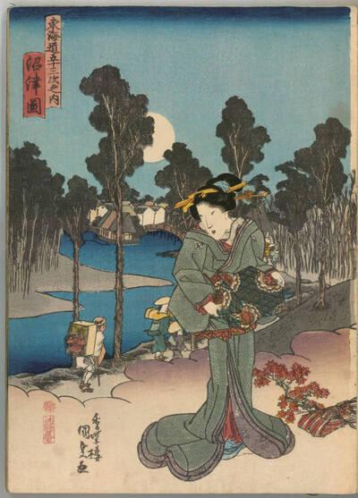 Numazu (Numazu zu 沼津圖)