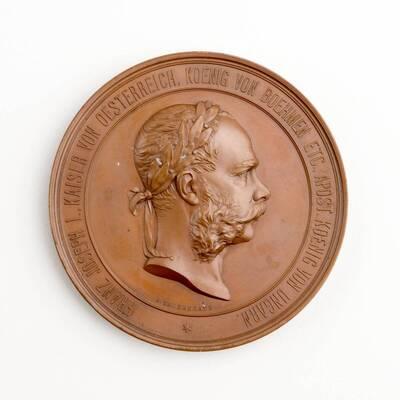 Medaille auf die Weltausstellung 1873