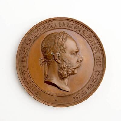 Medaille auf dem Weltausstellung 1873
