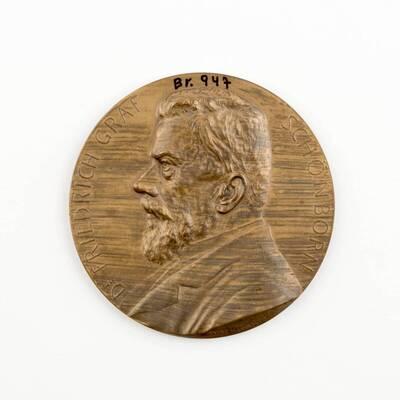 Medaille auf Dr. Friedrich Graf Schönborn