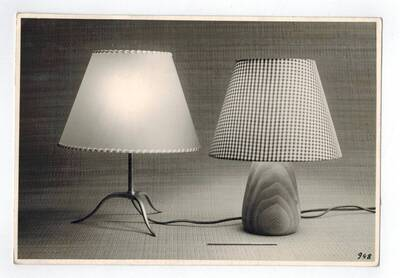 2 Tischlampen (vom Bearbeiter vergebener Titel)