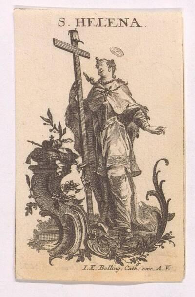 Andachtsbild mit der Heiligen Helena