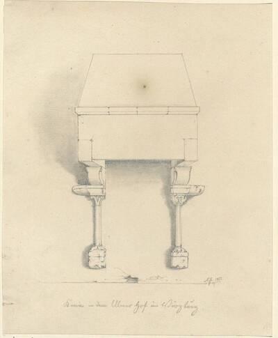 Kopie eines Kamins im ehemaligen Ulmer Hof zu Würzburg (vom Bearbeiter vergebener Titel)