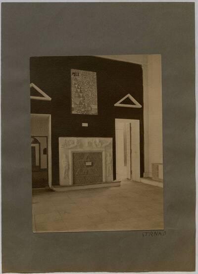 Repräsentationsraum der Werkbundausstellung 1914 in Köln (vom Bearbeiter vergebener Titel)
