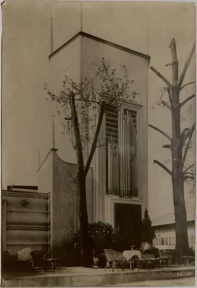 Orgelturm auf der