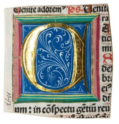 Initiale eines Missales (vom Bearbeiter vergebener Titel)
