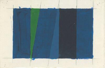 Acryl Variation Project Triptychon Right No. 12c, W.L. 14A (Originaltitel)