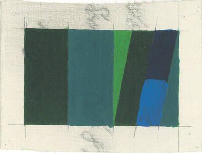 Acryl Variation Project Triptychon Left No. 12c, W.L. 14A (Originaltitel)