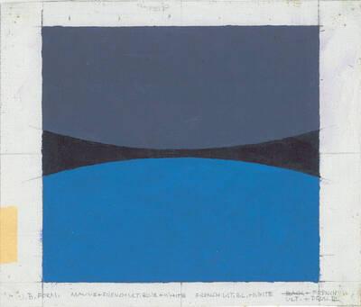 Acryl, Mauve, French blue, White, French Ultrablue (Originaltitel)