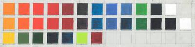 Farbtafel, Acryl Color Scale (Originaltitel)