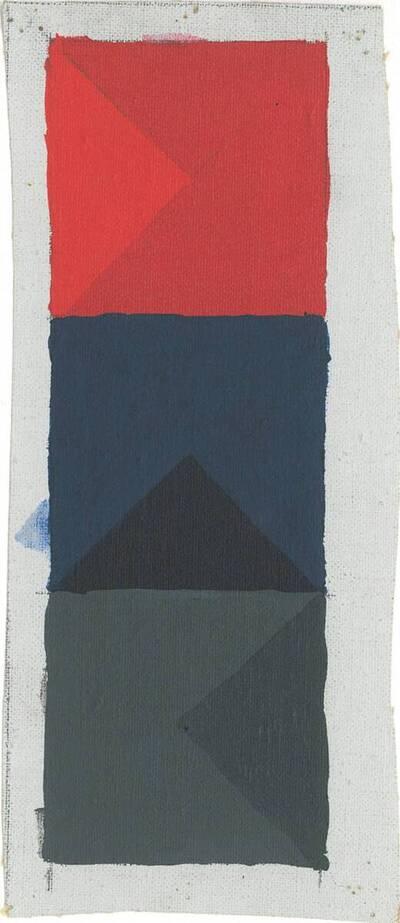 Acryl No. 409/III, Triptychon XI 1-3 (Originaltitel)