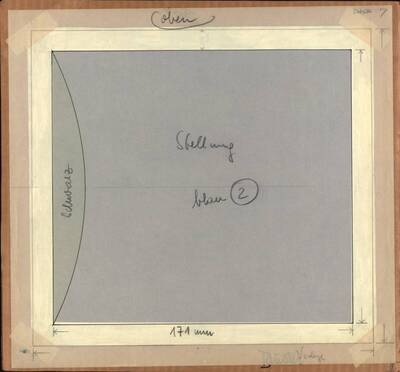 Acryl No. 248, Opus X, mit einer Entwurfsschablone (Originaltitel)