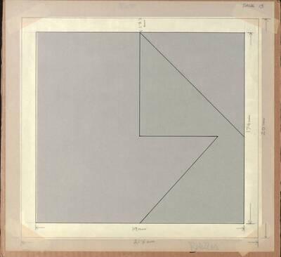 Acryl No. 251, Opus 43, mit einer Entwurfsschablone (Originaltitel)