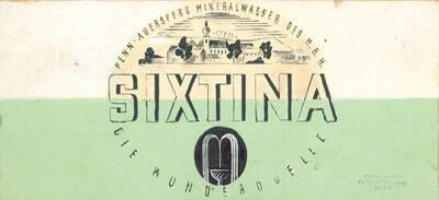 Sixtina, Penn-Auersperg Mineralwasser Ges.m.b.H, Die Wunderquelle (vom Bearbeiter vergebener Titel)