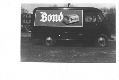 Fotografie eines Lieferwagens für