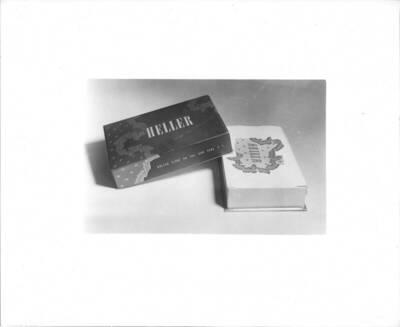 Fotografie einer Verpackung für