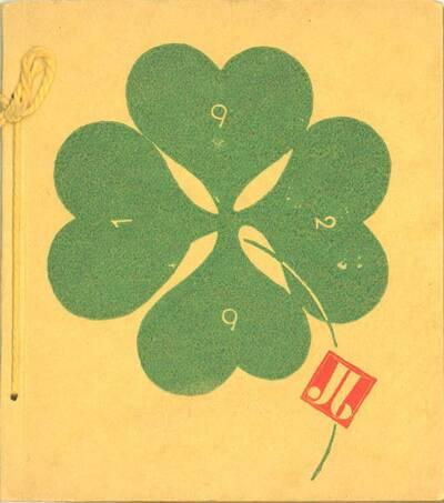 Kalender 1929; Ein lustiges Kalendarium gewidmet unseren Freunden und allen die es werden sollen (vom Bearbeiter vergebener Titel)