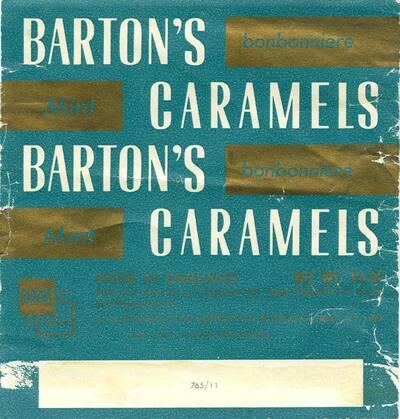 Barton's bonbonniere, Mint Caramels (Originaltitel)