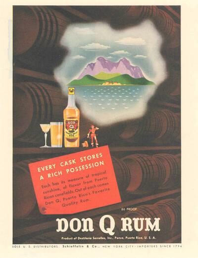 Don Q Rum, Every Cask Stores a Rich Possession,... (Originaltitel)